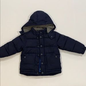 Navy Blue GAP Jacket with hood